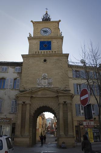 La Tour de L'Horloge - Salon de Provence par cpqs