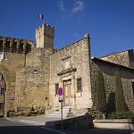 Entrée du Château de L'Emperi par cpqs - Salon de Provence 13300 Bouches-du-Rhône Provence France