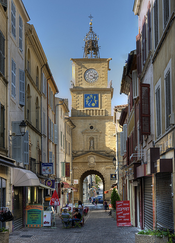 Clock Tower, Salon de Provence by philhaber