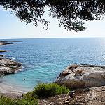 Plage et récifs de Sausset les Pins par sabinelacombe - Sausset les Pins 13960 Bouches-du-Rhône Provence France