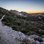 Randonnée au coucher du soleil dans les Alpilles par arsamie - St. Rémy de Provence 13210 Bouches-du-Rhône Provence France