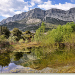 Reflets - Barre du Cengle - Sainte-Victoire (13) par  - St. Antonin sur Bayon 13100 Bouches-du-Rh&ocirc;ne Provence France