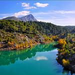 Le lac Bimont et la montagne Sainte-Victoire par Charlottess - St. Marc Jaumegarde 13100 Bouches-du-Rhône Provence France