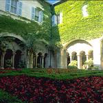 Monastery Saint-Paul de Mausole garden by wanderingYew2 - St. Rémy de Provence 13210 Bouches-du-Rhône Provence France