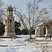 Glanum sous la neige par Cilions - St. Rémy de Provence 13210 Bouches-du-Rhône Provence France