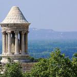 Roman cenotaph, Glanum - Saint Rémy par Aschaf - St. Rémy de Provence 13210 Bouches-du-Rhône Provence France