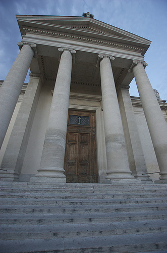 Saint Martin Collegiate Church - Saint-Remy-de-Provence by bluerockpile
