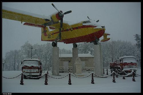 Le Sud de la France sous la neige ! by Patchok34