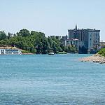 Tarascon et son chateau - croisière sur le rhône par Rémi Avignon - Tarascon 13150 Bouches-du-Rhône Provence France