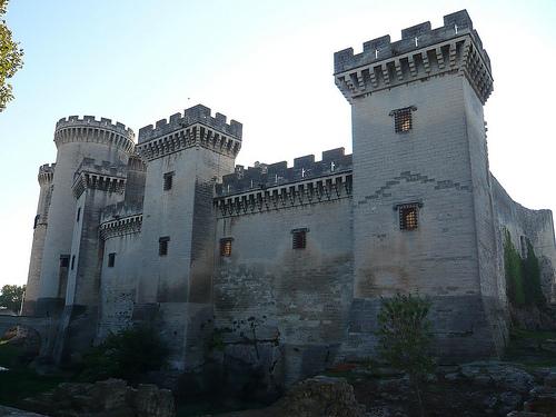 Château de Tarascon par Vaxjo