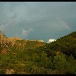 Couleurs orageuse au pied de la montagne Sainte-Victoire par Patchok34 - Vauvenargues 13126 Bouches-du-Rhône Provence France