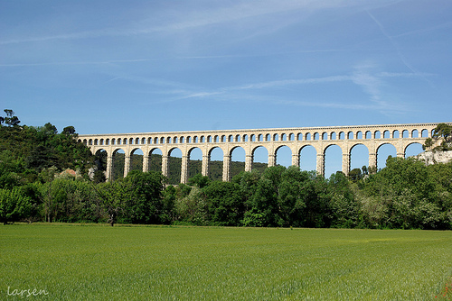 Acqueduc de Roquefavour - canal de Marseille by larsen & co