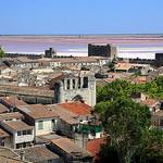 Aigues-Mortes, ses remparts, et l'étang de la ville by Aschaf - Aigues-Mortes 30220 Gard Provence France