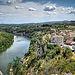 Vu sur le village d'Aiguèze et l'ardèche by www.photograbber.de - Aigueze 30760 Gard Provence France