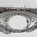 La Neige à Nïmes : Les arènes de Nîmes sous la neige par matth30 - Nîmes 30000 Gard Provence France