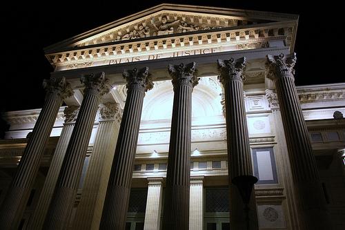 Nîmes : Palais de Justice par Cilions