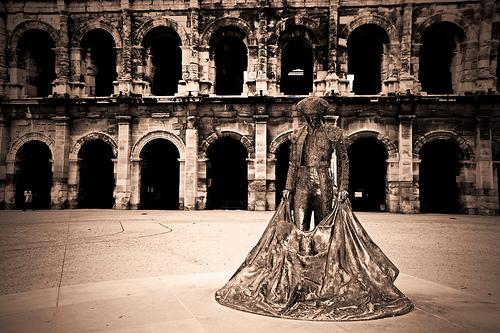 Arènes de Nîmes par Boccalupo