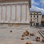 Chairs - the mistral effect by hughg35 - Nîmes 30000 Gard Provence France