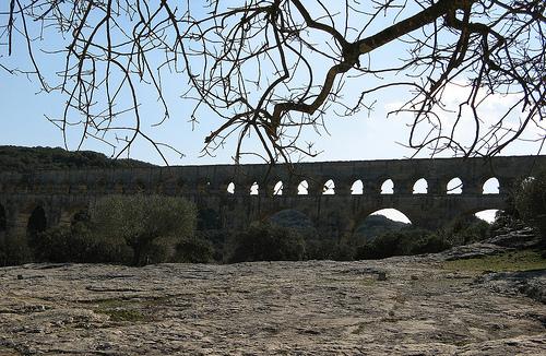 Le Pont du Gard par mistinguette18