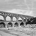 Aqueduc : Pont du Gard de Remoulins par Cilions - Vers-Pont-du-Gard 30210 Gard Provence France