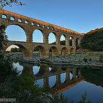 The thin red line - Pont du Gard by Marc Haegeman Photography - Vers-Pont-du-Gard 30210 Gard Provence France
