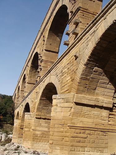 Arches du Pont du Gard par salva1745