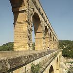 Pont du Gard Arches by george.f.lowe - St.-Bonnet-du-Gard 30210 Gard Provence France