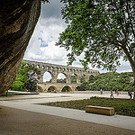 Pont du Gard, France par Mark Howells-Mead - St.-Bonnet-du-Gard 30210 Gard Provence France