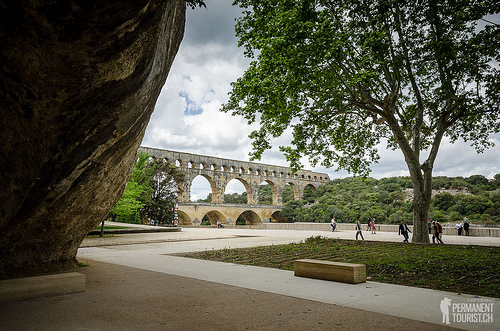 Pont du Gard, France par Mark Howells-Mead