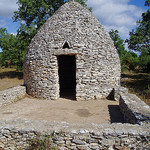 """Borie"" Dry-stone hut  by Sokleine -   Gard Provence France"