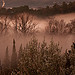 Brume sur l'Alzon par Cdric Dugat - Uzs 30700 Gard Provence France