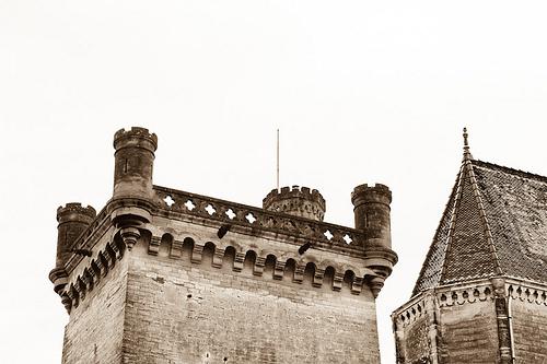 """Le château Ducal d'Uzès dit """"Le Duché"""" par Cédric Dugat"""