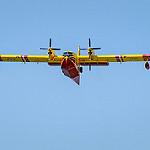 Canadair en approche dans le Gard by  -   Gard Provence France