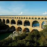 Le pont du Gard par Patchok34 - Vers-Pont-du-Gard 30210 Gard Provence France