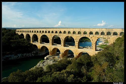 Le pont du Gard par Patchok34