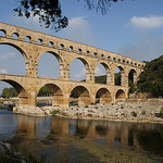 Le Pont du Gard par CaputAethiopum - Vers-Pont-du-Gard 30210 Gard Provence France