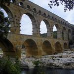 Le famous Pont du Gard :  massive and impressive by perseverando - Vers-Pont-du-Gard 30210 Gard Provence France