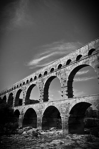Pont du Gard by ethervizion