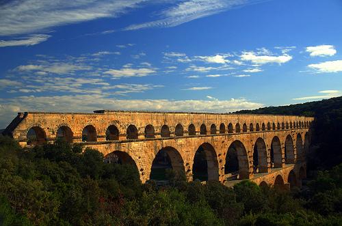 Pont du Gard par Alexandre Santerne