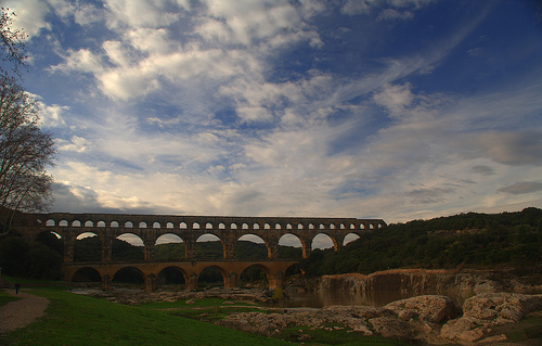 Pont du Gard by Alexandre Santerne