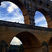 Les arches du Pont du Gard by Alexandre Santerne - Vers-Pont-du-Gard 30210 Gard Provence France