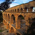 Les arches du Pont du Gard par Alexandre Santerne - Vers-Pont-du-Gard 30210 Gard Provence France