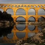 Pont du Gard en or by Boccalupo - Vers-Pont-du-Gard 30210 Gard Provence France