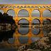 Pont du Gard en or par Boccalupo - Vers-Pont-du-Gard 30210 Gard Provence France