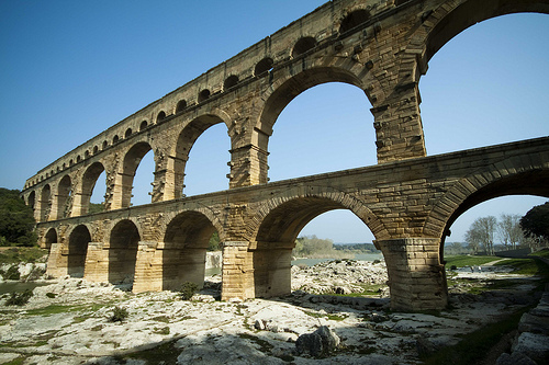 Pont du Gard by Andrea Albertino