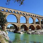 Pont du Gard aqueduct par Mattia Camellini - Vers-Pont-du-Gard 30210 Gard Provence France