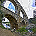 Pont du Gard en fish eye by Alexandre Santerne - Vers-Pont-du-Gard 30210 Gard Provence France