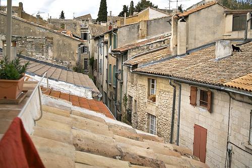 Les toits de Villeneuve-les-Avignon par avz173