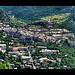 Vue sur la cité Vauban de Briançon par Alain Cachat - Briançon 05100 Hautes-Alpes Provence France
