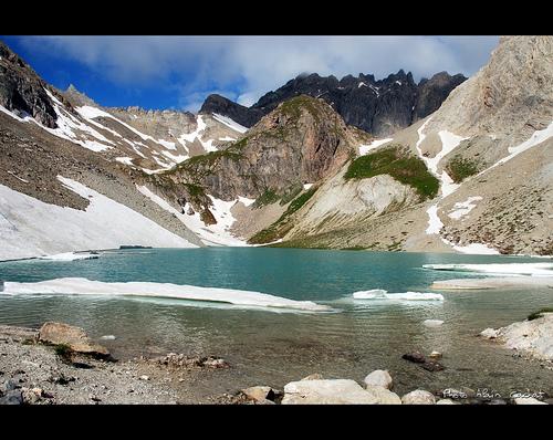 Haute vallée de la Clarée - Le lac des Béraudes par Alain Cachat